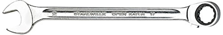 Stahlwille(スタビレー) 17-15 ラチェットコンビネーションレンチ