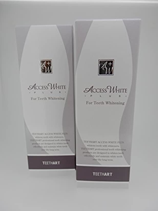 文字通り暴力的な封筒TEETHART(ティースアート) アクセスホワイトプラス ローズミントハーブタイプ 2本セット