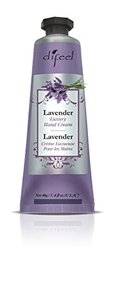 女性美容師タイプライターDifeel(ディフィール) ラベンダー ナチュラル ハンドクリーム 40g LAVENDER 09LAVn New York