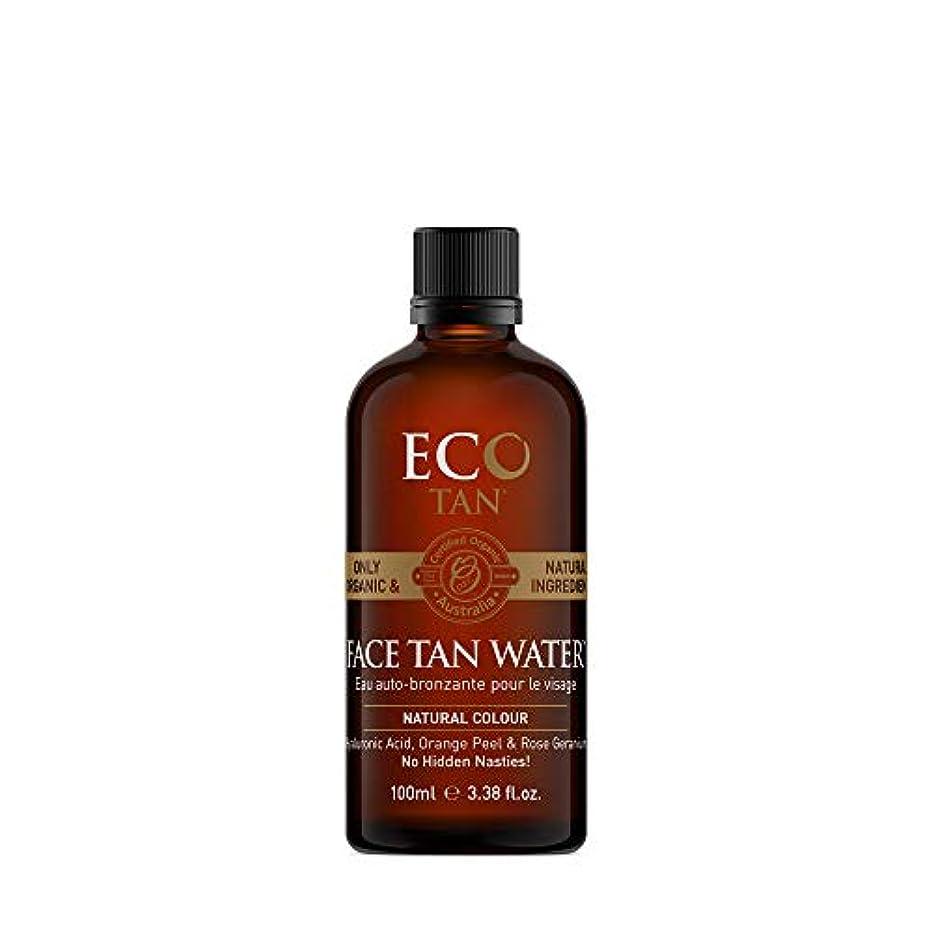 大いにタイピスト旋律的EcoTan エコタン フェイスウォーター