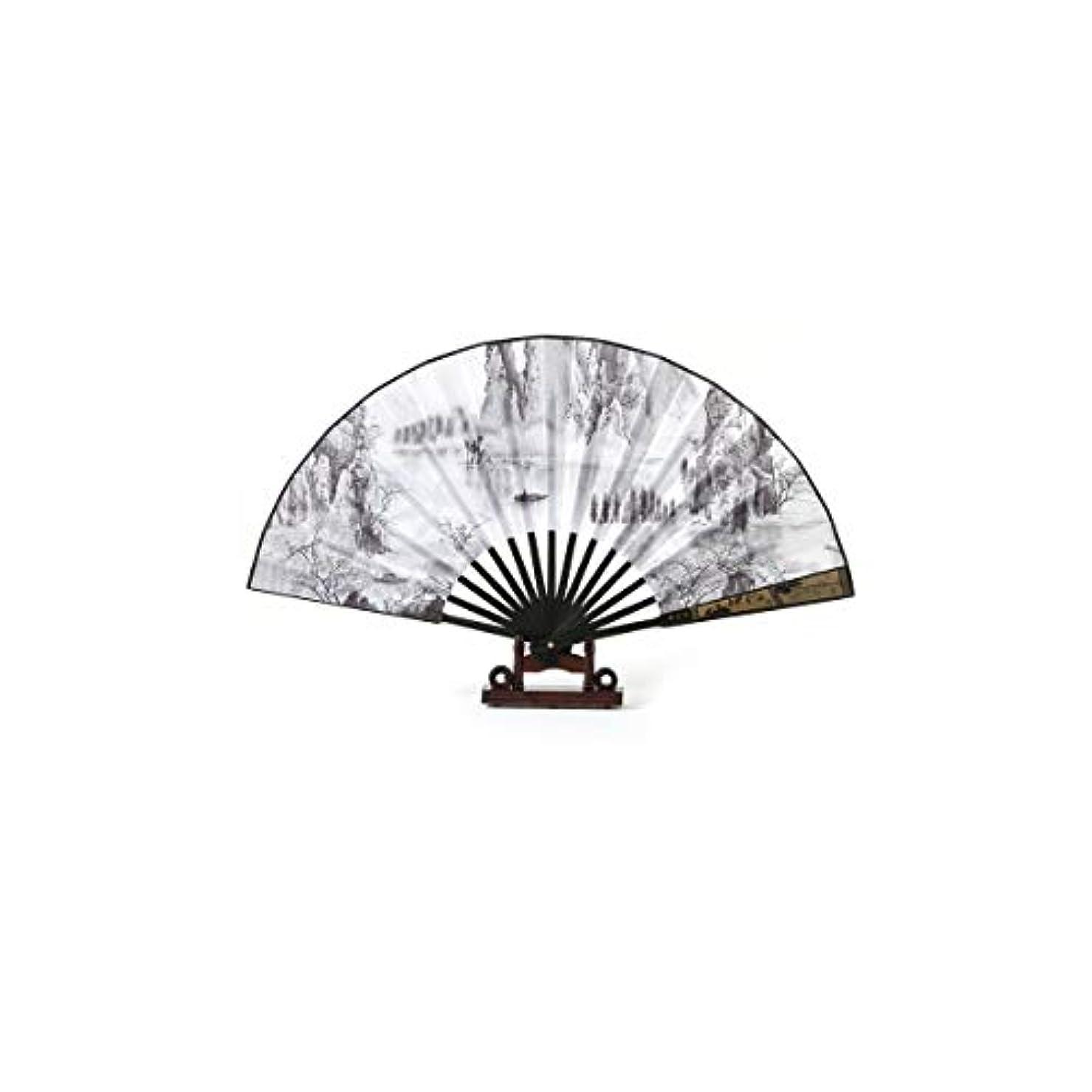 夜間トライアスリートコンサートFengshangshanghang 新清アンティーク扇子、リビングルーム、寝室の装飾、誕生日プレゼント、貴族。,家の装飾