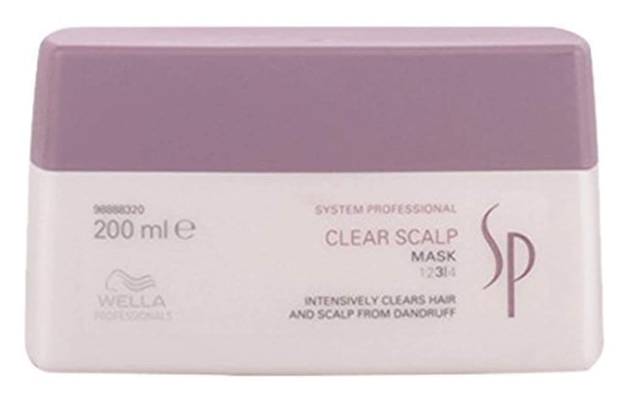 バルブサイズ検査Wella SP Clear Scalp Mask ウエラ SP クリアスカルプマスク 200ml [並行輸入品]