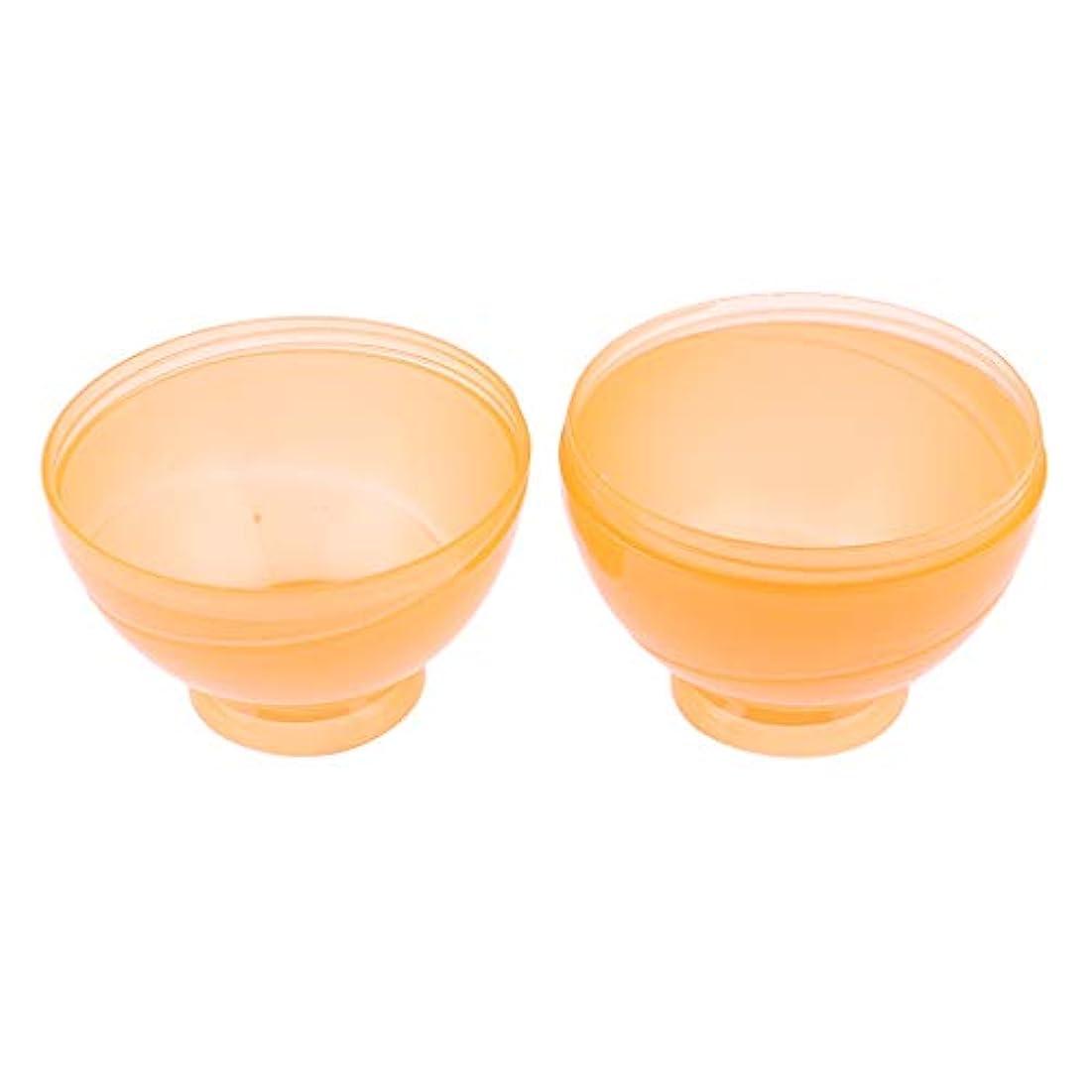 スローガン世論調査終わった全3色 ヘアカラー ミキシングボトル プロ 美容師 キャンディー形状 便利 漏れ防止 - オレンジ