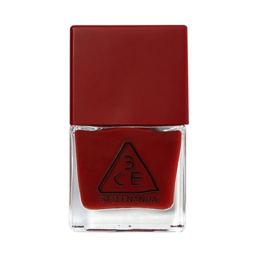 バラ色レプリカ協会3CE RED RECIPE LONG LASTING NAIL LACQUER (#RD09) 3CEレッドレシピロングレーシュネイルラッカー (#RD09) [並行輸入品]