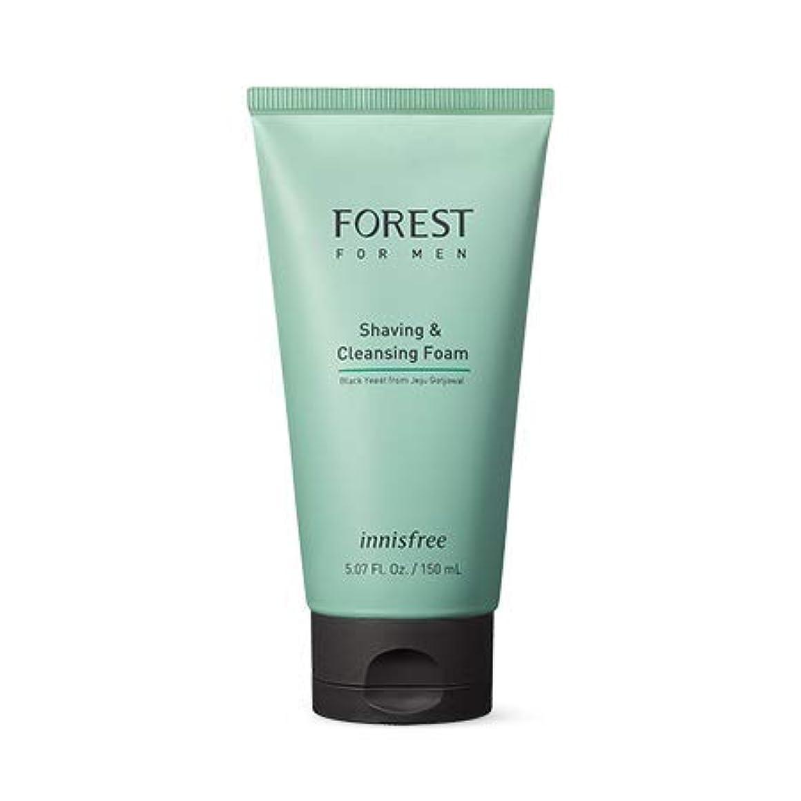 ネスト剪断再び[イニスフリー.innisfree]フォレストフォアマンシェービング&クレンジングフォーム150mL(2019.05新製品)/ Forest for Men Shaving&Cleansing Foam