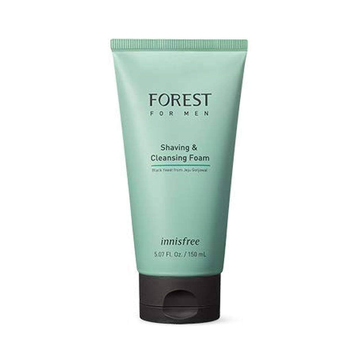 マントブレス寛容な[イニスフリー.innisfree]フォレストフォアマンシェービング&クレンジングフォーム150mL(2019.05新製品)/ Forest for Men Shaving&Cleansing Foam