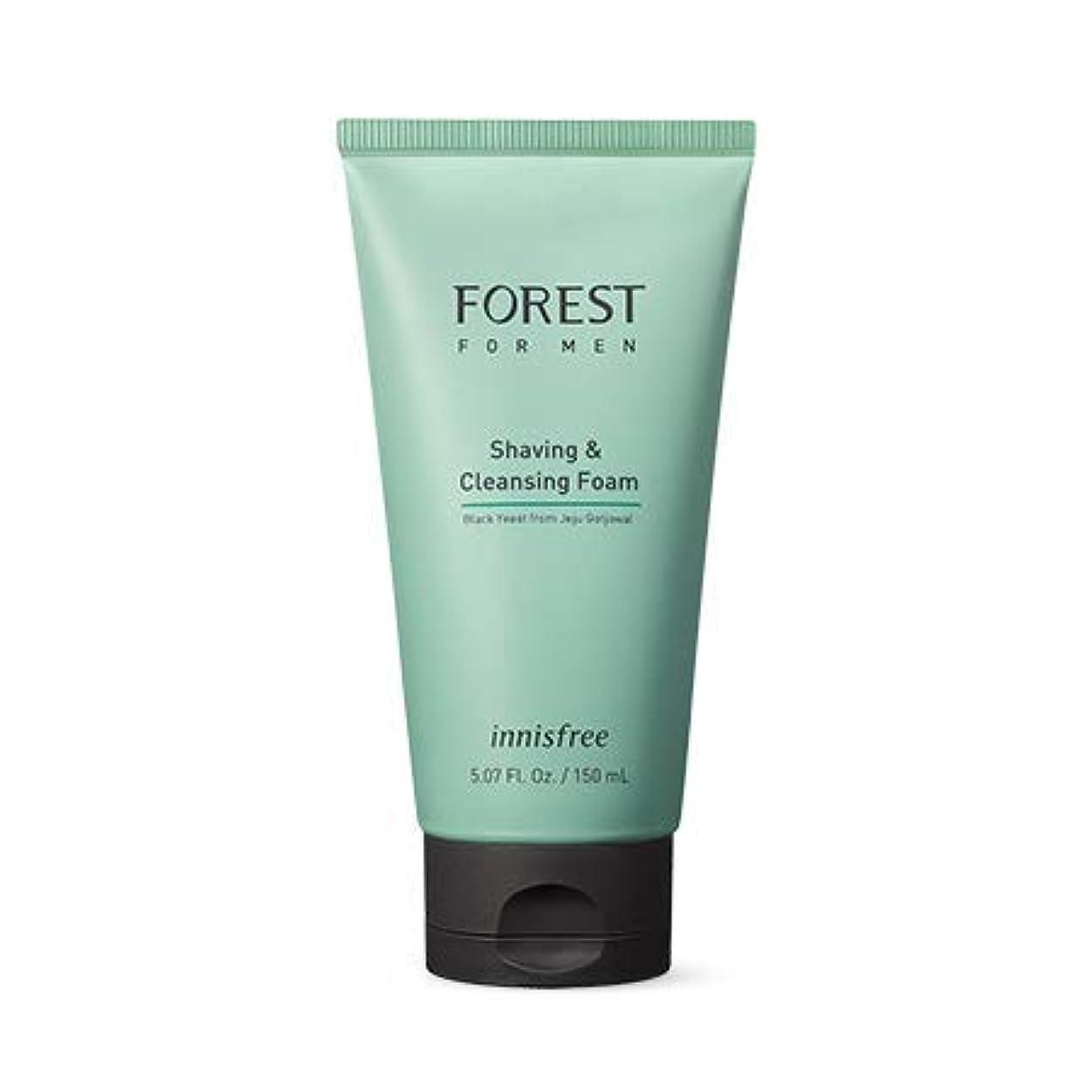 滑る証明書削る[イニスフリー.innisfree]フォレストフォアマンシェービング&クレンジングフォーム150mL(2019.05新製品)/ Forest for Men Shaving&Cleansing Foam