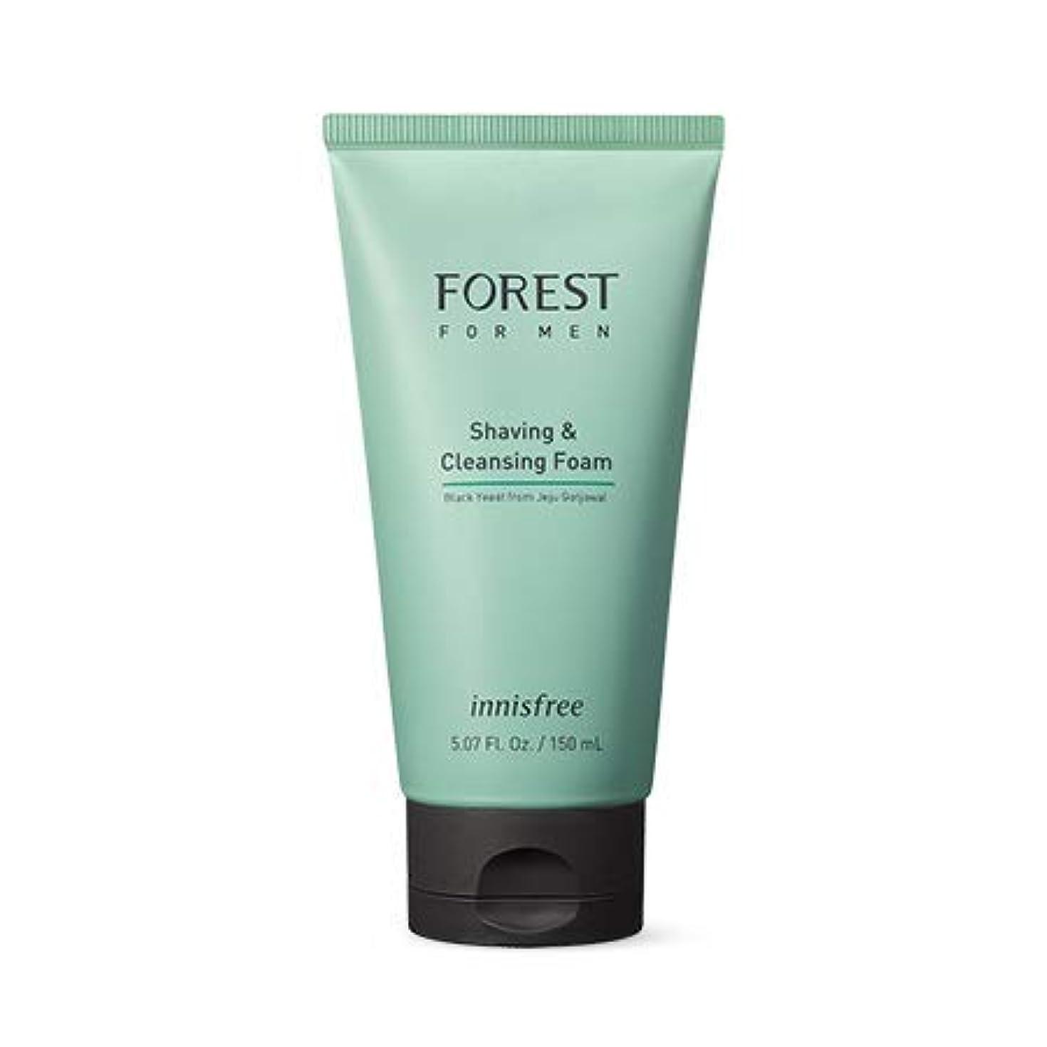 惨めな愛国的な代数[イニスフリー.innisfree]フォレストフォアマンシェービング&クレンジングフォーム150mL(2019.05新製品)/ Forest for Men Shaving&Cleansing Foam