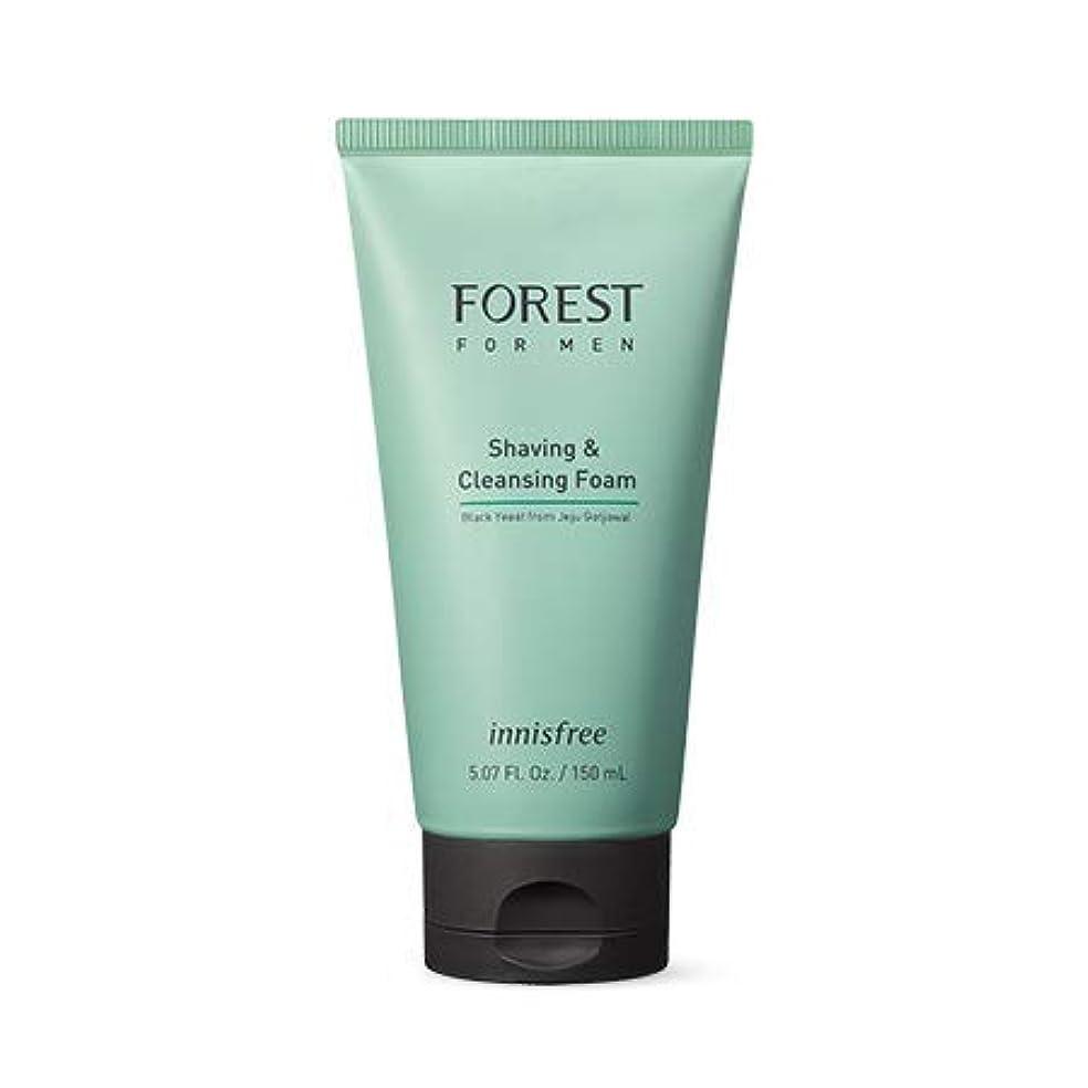 とんでもない故意の折り目[イニスフリー.innisfree]フォレストフォアマンシェービング&クレンジングフォーム150mL(2019.05新製品)/ Forest for Men Shaving&Cleansing Foam