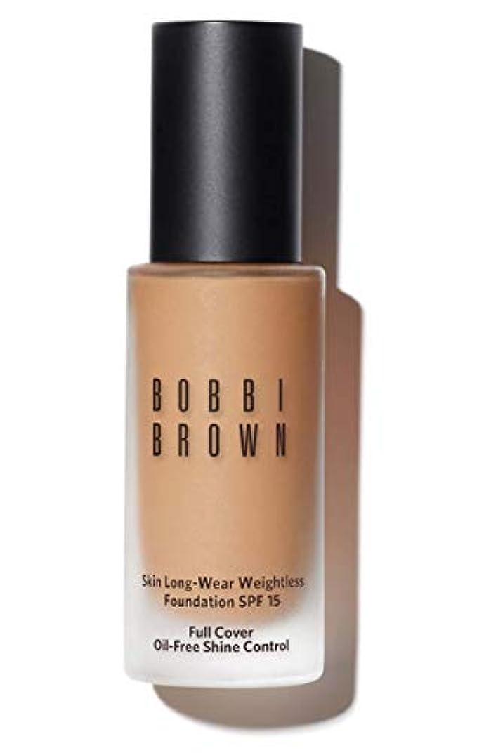 葉を集める新着回転させるボビイ ブラウン Skin Long Wear Weightless Foundation SPF 15 - # Warm Sand 30ml/1oz並行輸入品