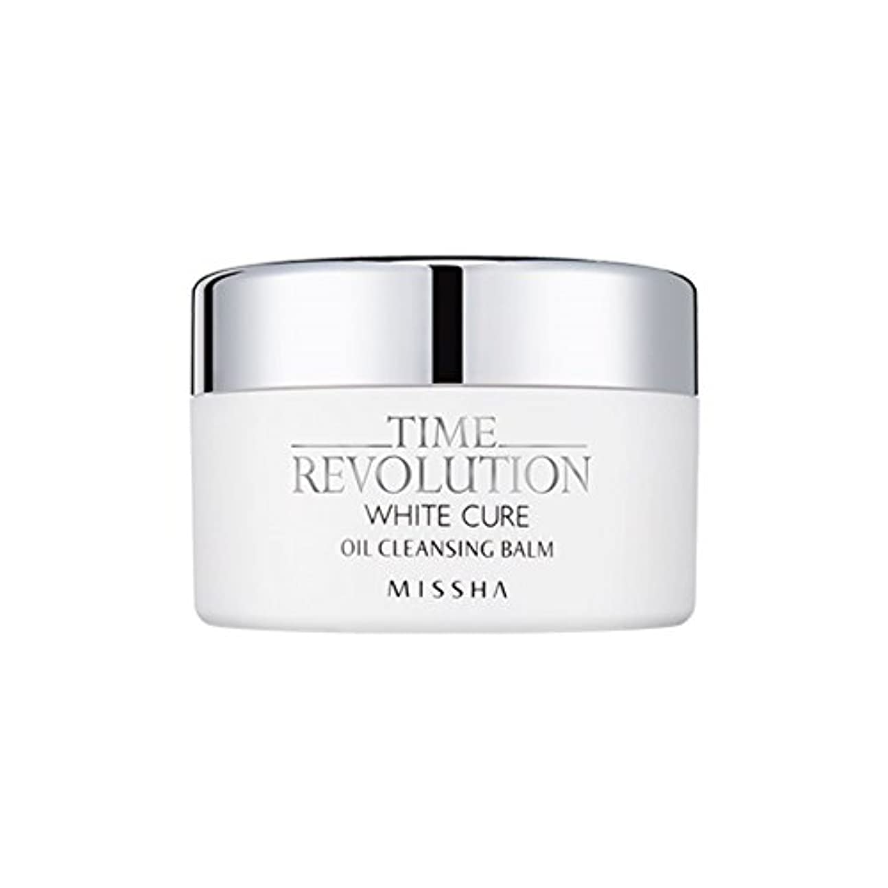 口述弱める助言する[New] MISSHA Time Revolution White Cure Oil Cleansing Balm 105g/ミシャ タイムレボリューション ホワイト キュア オイル クレンジング バーム 105g