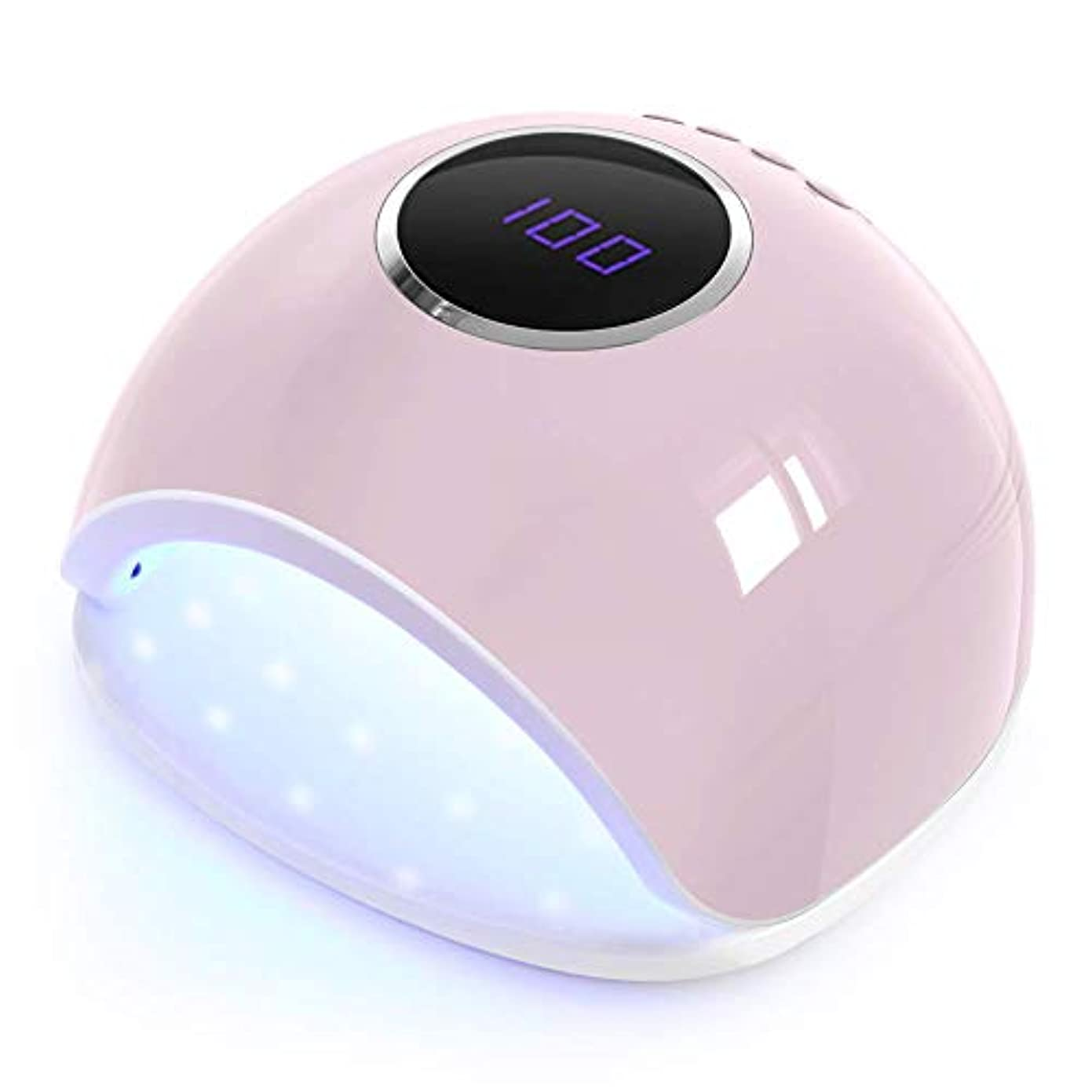 させる着る妊娠したネイルライトプロフェッショナル24ワット/ 48ワットUVランプネイル、3つのプリセットタイマー(5秒、30秒、60秒)を備えたネイルグルー自動センサー用