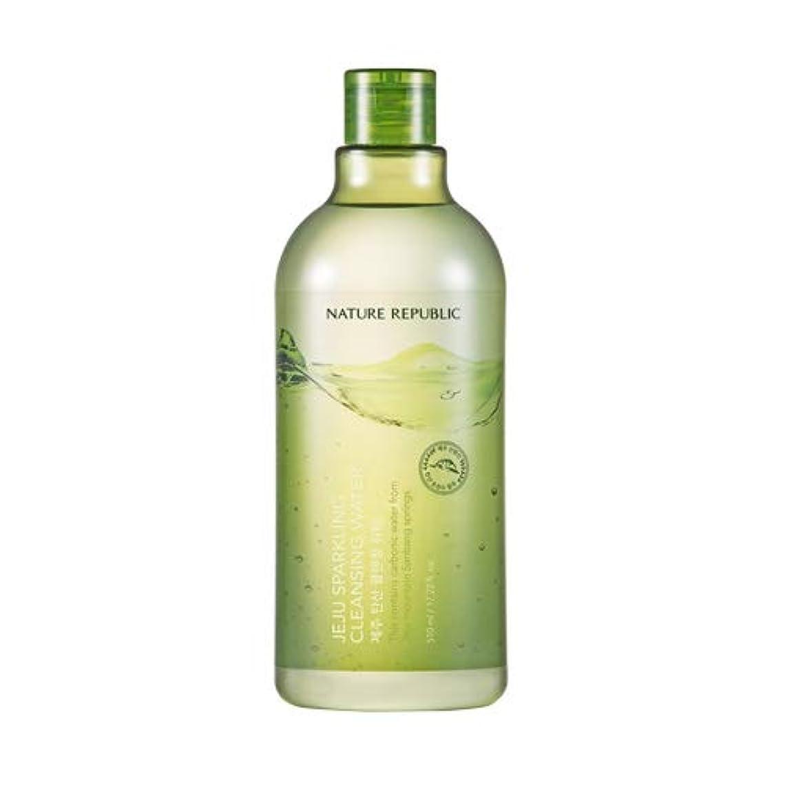 球体距離病的Nature republic Jeju Sparkling(Carbonic) Cleansing Water ネイチャーリパブリック済州炭酸クレンジングウォーター 510ml [並行輸入品]
