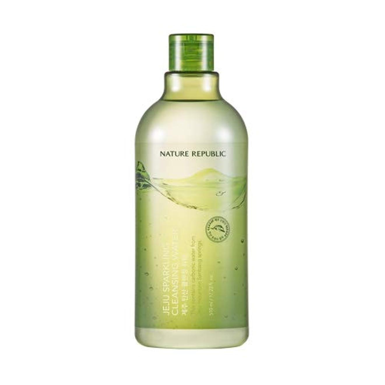 八子豚シートNature republic Jeju Sparkling(Carbonic) Cleansing Water ネイチャーリパブリック済州炭酸クレンジングウォーター 510ml [並行輸入品]