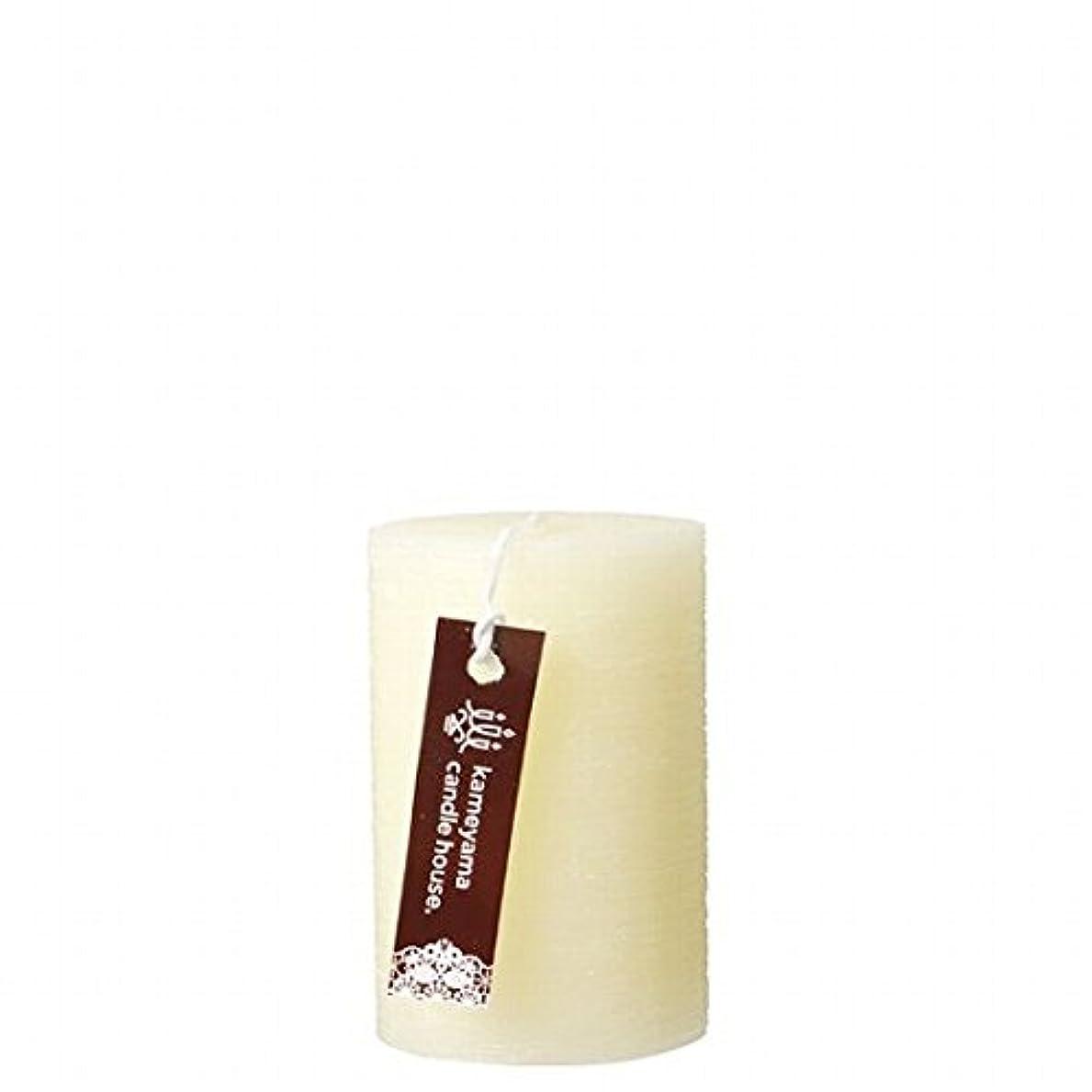 発揮する無し甘やかすカメヤマキャンドル(kameyama candle) ブラッシュピラー2×3 「 アイボリー 」