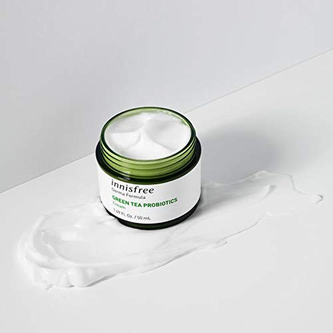 著者トラブル価値[イニスフリー.innisfree]ダーマフォーミュラグリーンティープロバイオティクスクリーム50mL(2019.09 new)/ Derma Formula Green Tea Probiotics Cream