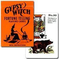 【ル?ノルマンカードの系譜を引く占いゲームカード】ジプシー?ウィッチ