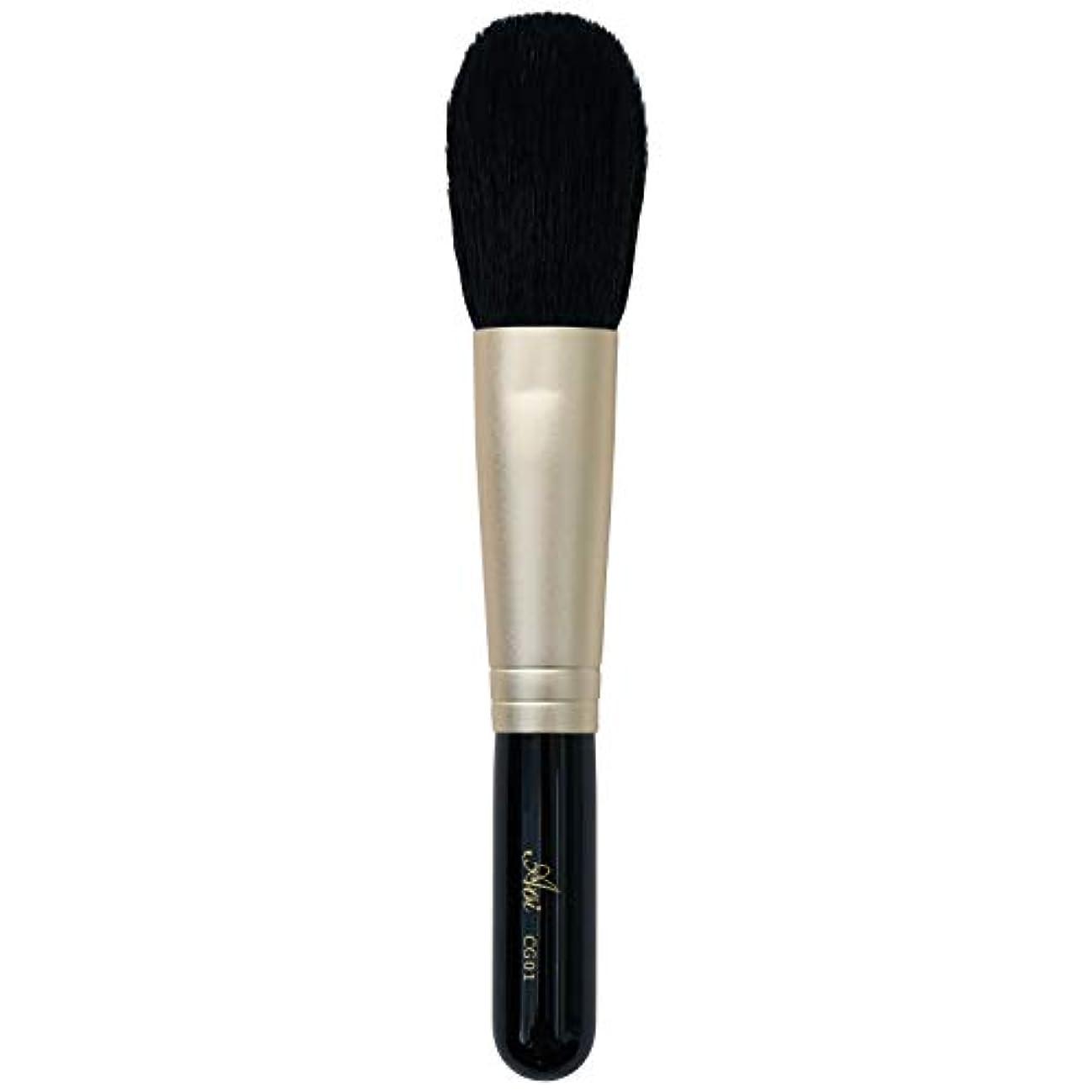または一般的に言えば発見する一休園 Aoi 熊野 化粧筆 チーク 丸平 13.2×2×1.2cm