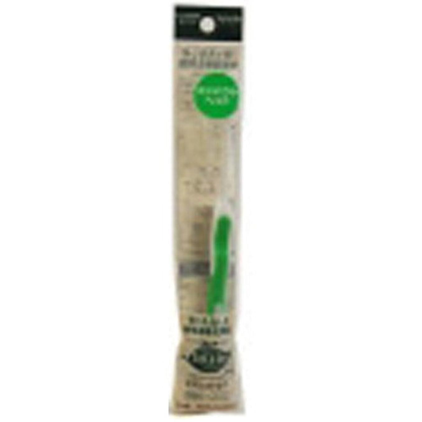 樹皮意図的悪名高いサレド ヘッド交換式歯ブラシ お試しセット コンパクトヘッド グリーン
