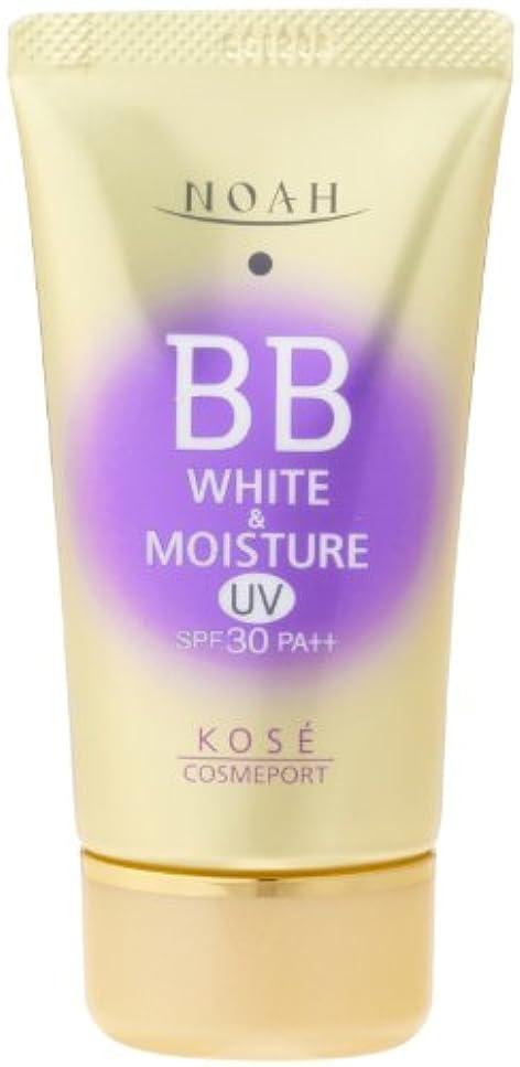 相互接続性格より平らなKOSE コーセー ノア ホワイト&モイスチュア BBクリーム UV01 SPF30 (50g)
