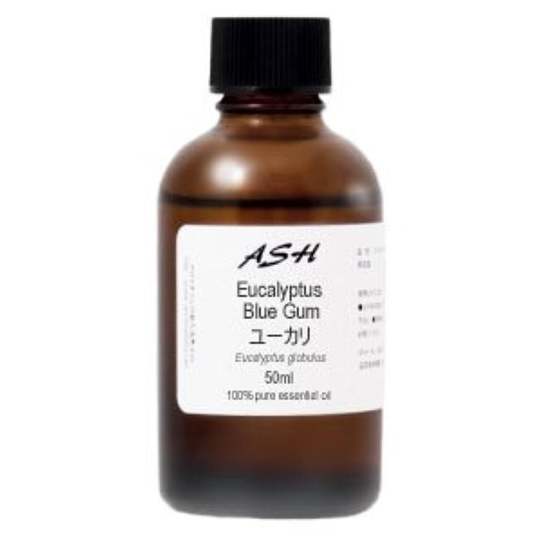 スクリーチ永続敬意を表してASH ユーカリ エッセンシャルオイル 50ml AEAJ表示基準適合認定精油