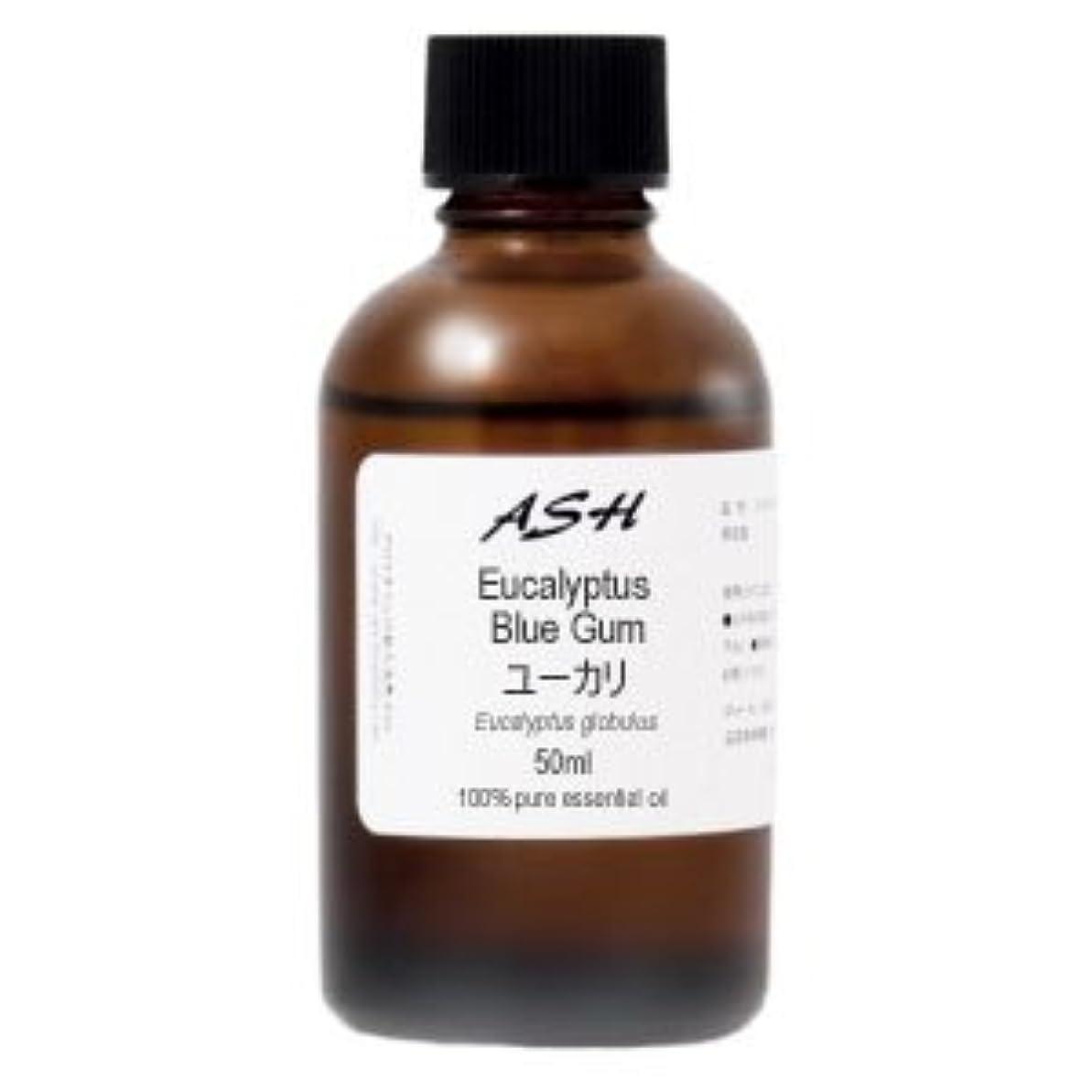 誇張する職人除去ASH ユーカリ エッセンシャルオイル 50ml AEAJ表示基準適合認定精油