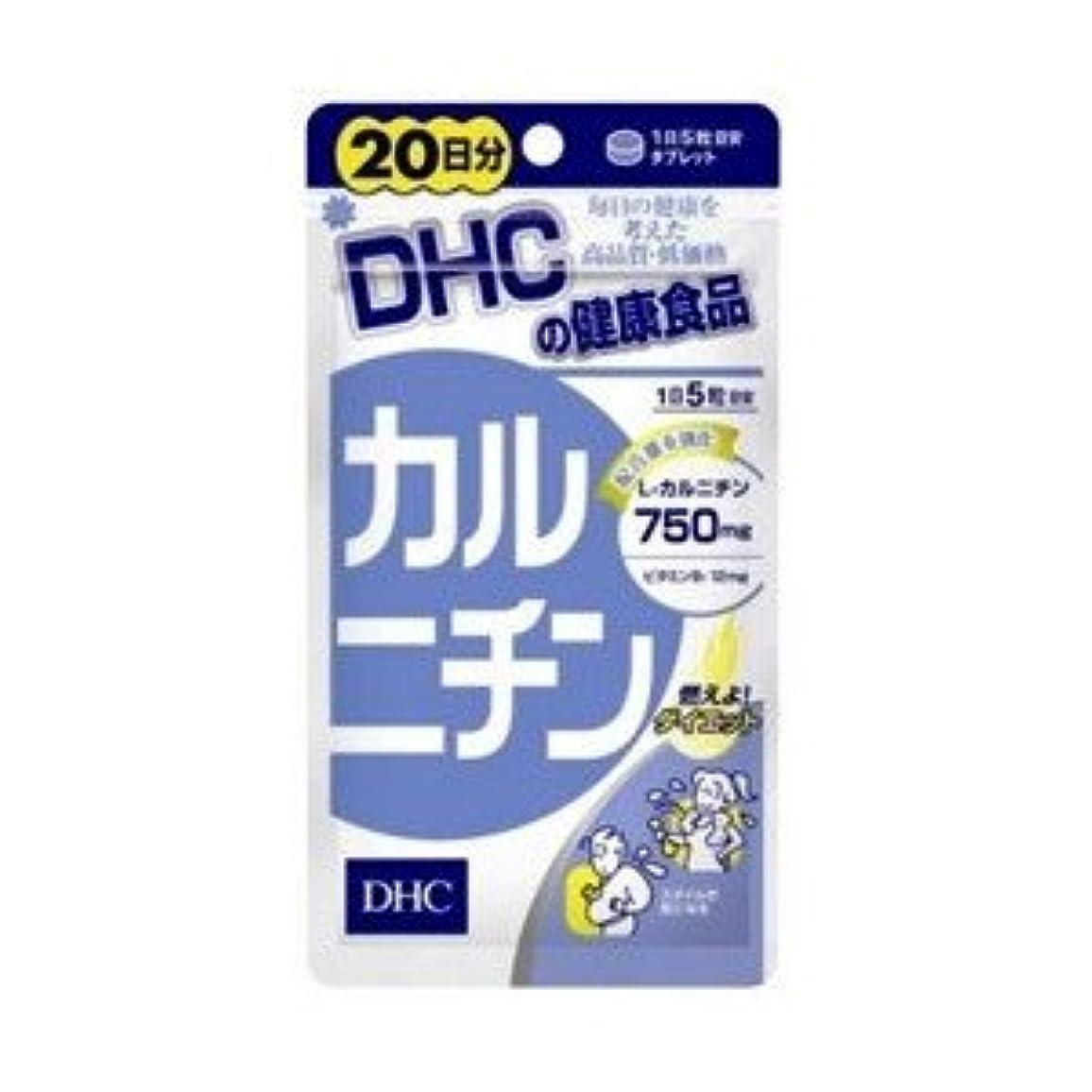散文カウントアップ看板DHC カルニチン(左旋肉碱)20日分100粒 X 6個セット