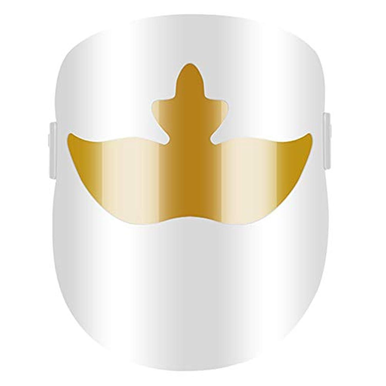 選出する情熱的見積りLEDフェイスマスク3色フォトンブルーレッドライトセラピースキンリジュビネーションアンチエイジングニキビスポットシワそばかす除去フェイシャルホワイトニングフェイシャルスキンケアマスク