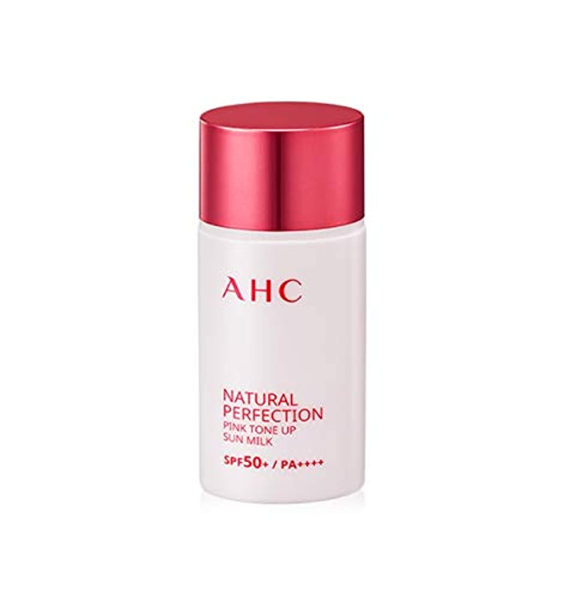 トロリーバス検索精巧なAHC ナチュラルパーフェクションピンクトンオプ線ミルク 40ml / AHC NATURAL PERFECTION PINK TONE UP SUN MILK 40ml [並行輸入品]
