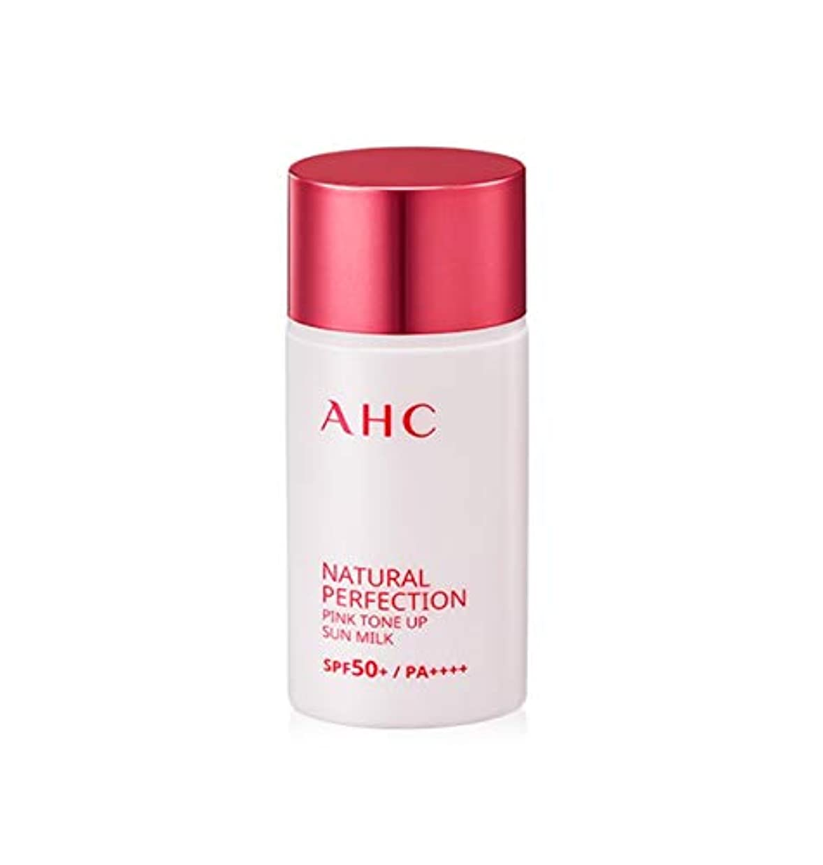 そよ風適応学習AHC ナチュラルパーフェクションピンクトンオプ線ミルク 40ml / AHC NATURAL PERFECTION PINK TONE UP SUN MILK 40ml [並行輸入品]