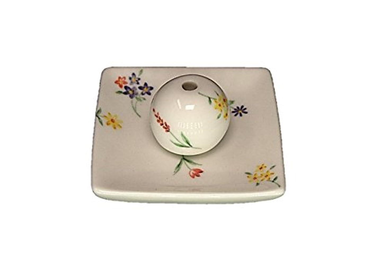 異形ディスクベアリングブーケ 小角皿 お香立て 陶器 製造 直売