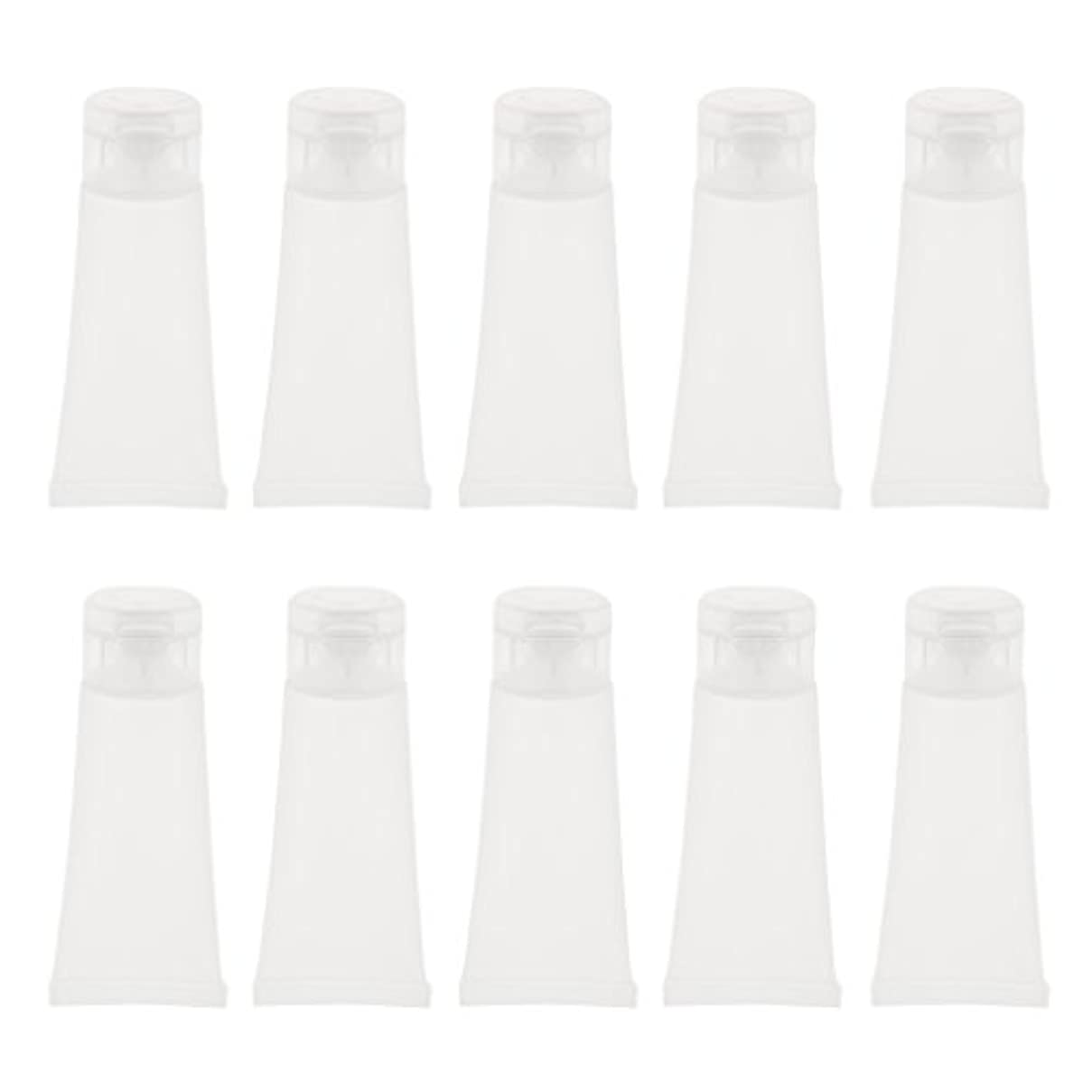 評判フェリー肘掛け椅子10個 空チューブ クリームチューブ 空ボトル コスメ 詰替え DIY 2サイズ選べる - 15g
