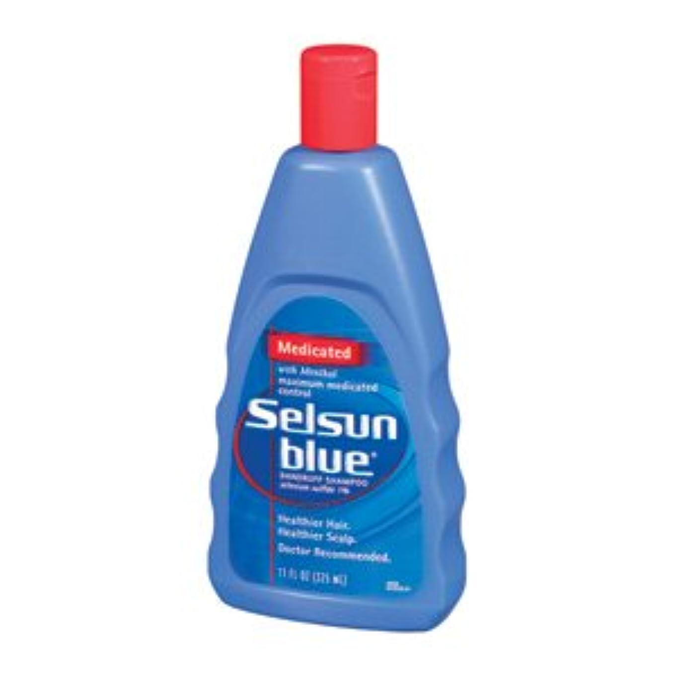 縁石剥離あごセルサンブルー Selsun Blue ふけ用薬用シャンプー312ml(海外直送品)