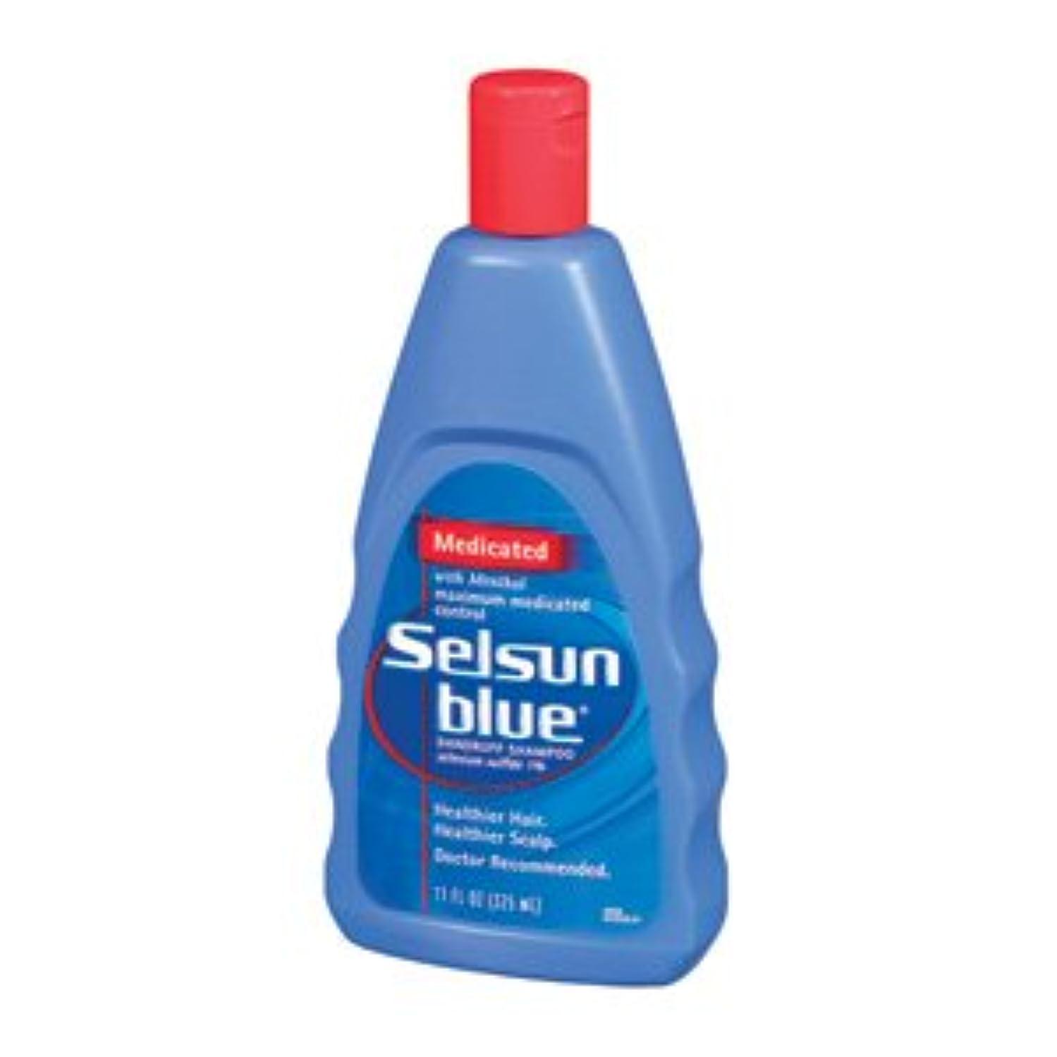 悪化させる医学濃度セルサンブルー Selsun Blue ふけ用薬用シャンプー312ml(海外直送品)