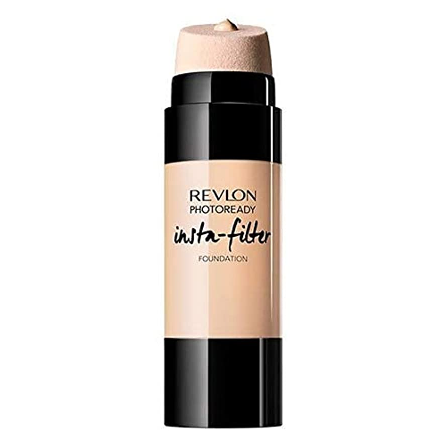 エイズ鉄深い[Revlon ] レブロンPhotoready Instafilter基礎磁器 - Revlon PhotoReady Instafilter Foundation Porcelain [並行輸入品]