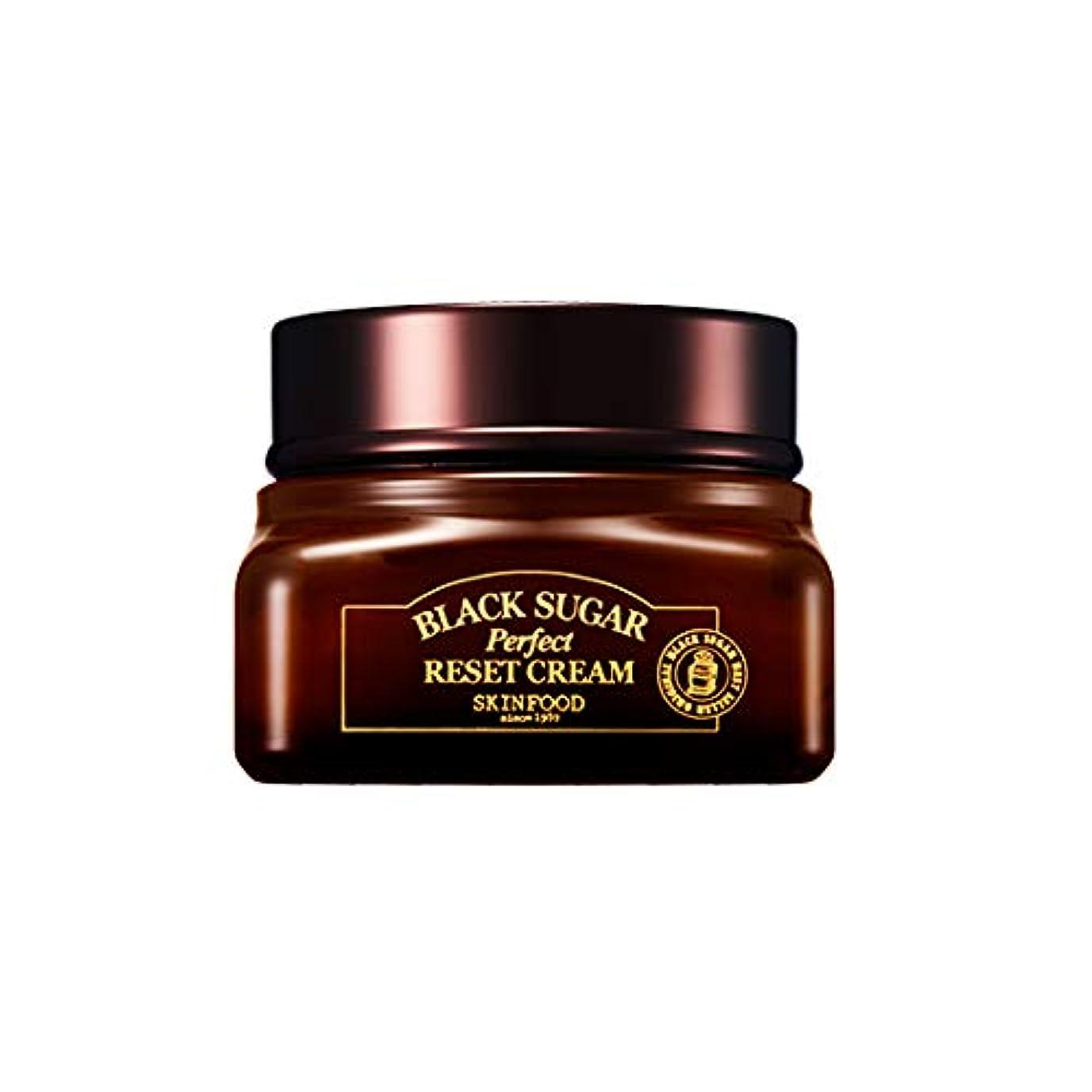足首ぎこちない市町村Skinfood 黒糖パーフェクトリセットクリーム/Black Sugar Perpect Reset Cream 60ml [並行輸入品]