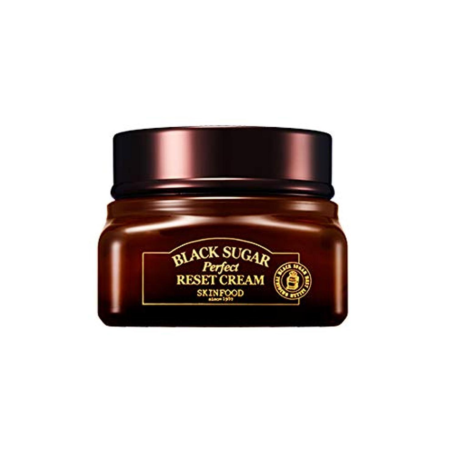 姉妹はちみつ接尾辞Skinfood 黒糖パーフェクトリセットクリーム/Black Sugar Perpect Reset Cream 60ml [並行輸入品]