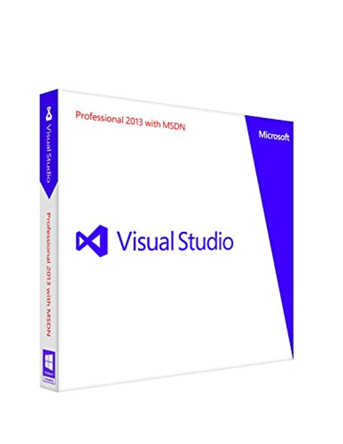 現代精緻化便益Microsoft Visual Studio Professional 2013 with MSDN 通常版