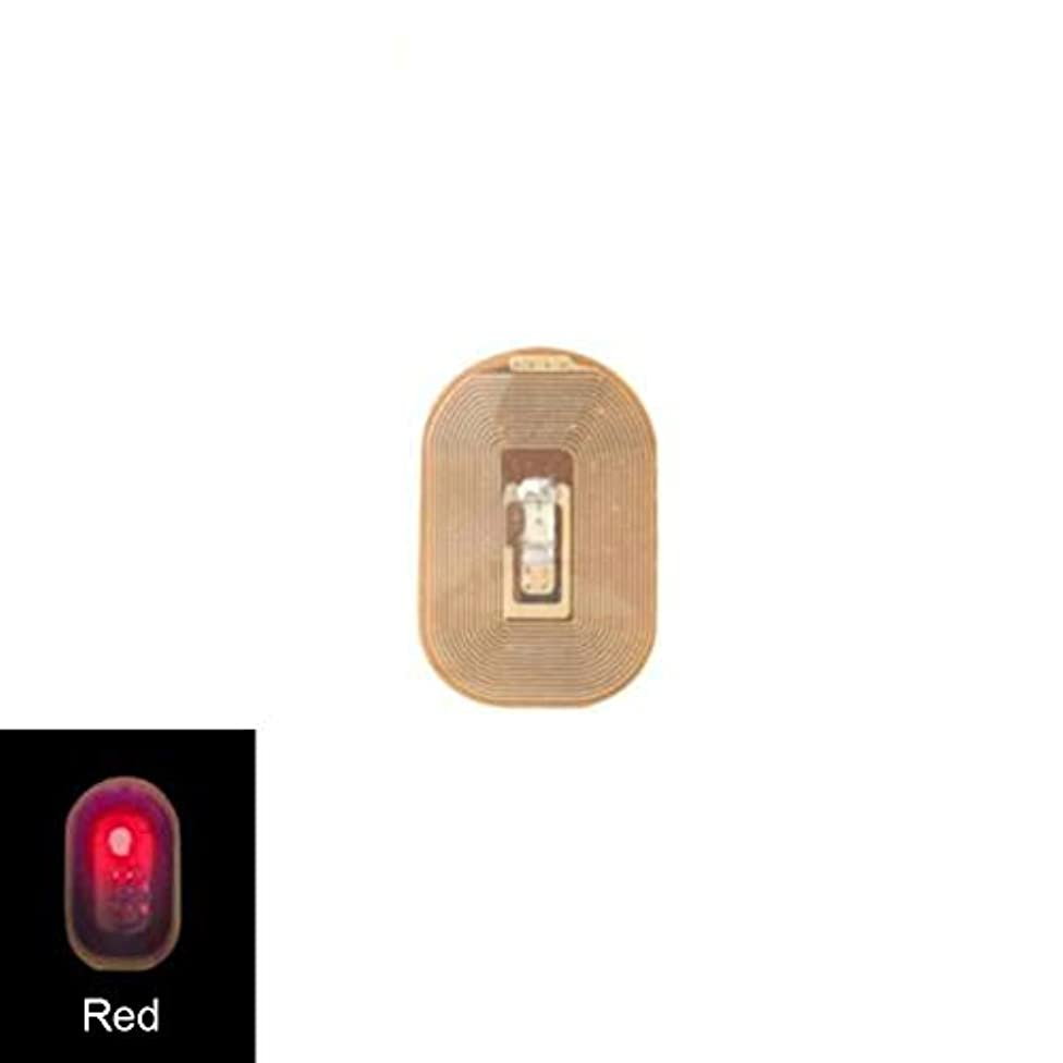 はっきりと特別に放出ACHICOO ネイルアートステッカー NFC ネイルアート LEDライト ステッカーデカール DIY アクセサリー Red light