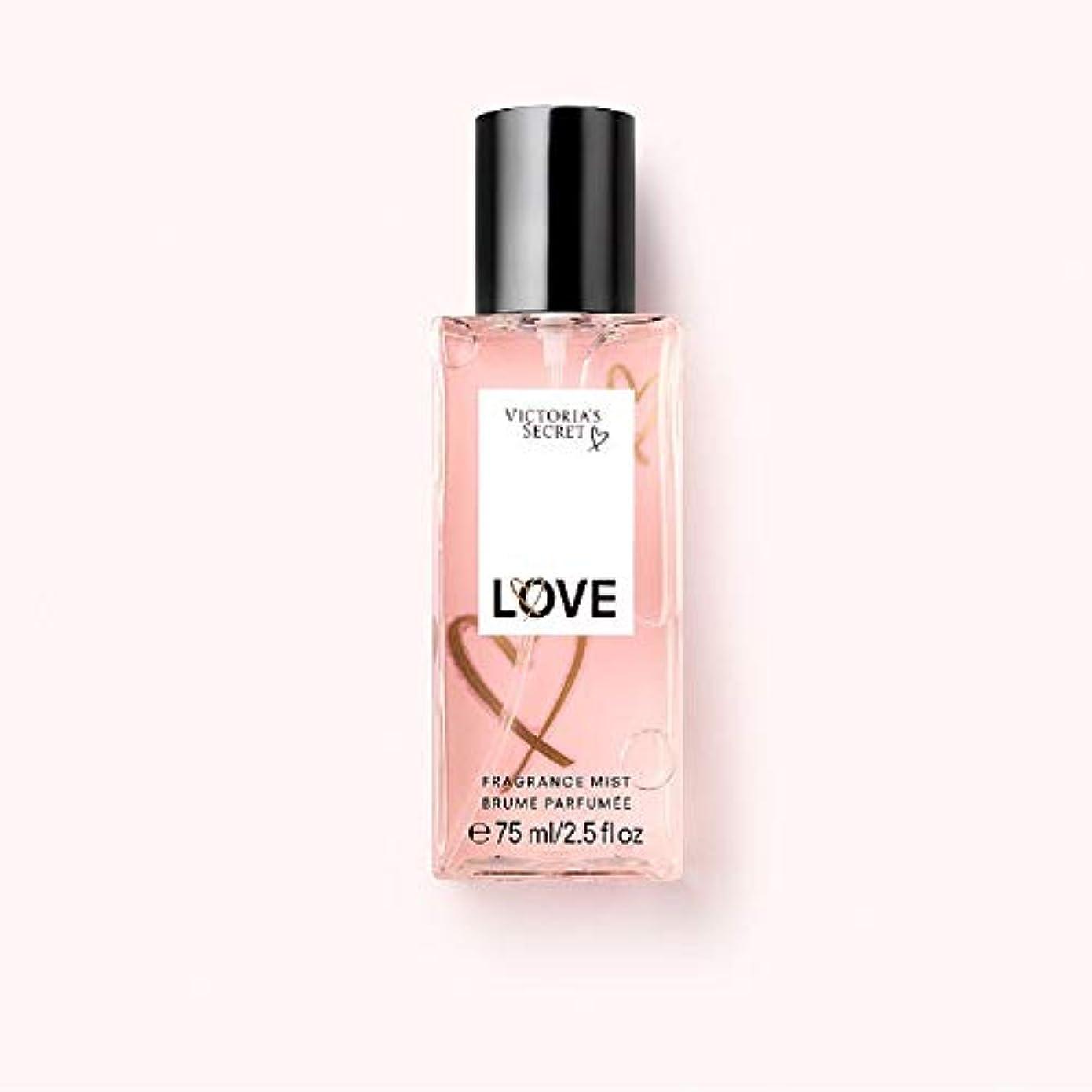 高度レガシー保有者トラベルサイズフレグランスミスト TravelSize FragranceMist ヴィクトリアズシークレット Victoria'sSecret (5.ラヴ/LOVE) [並行輸入品]
