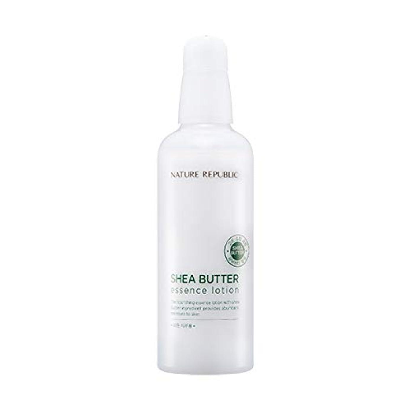 赤字ガードハードウェアネイチャーリパブリック(Nature Republic)シェアバターエッセンスローション 120ml / Shea Butter Essence Lotion 120ml :: 韓国コスメ [並行輸入品]
