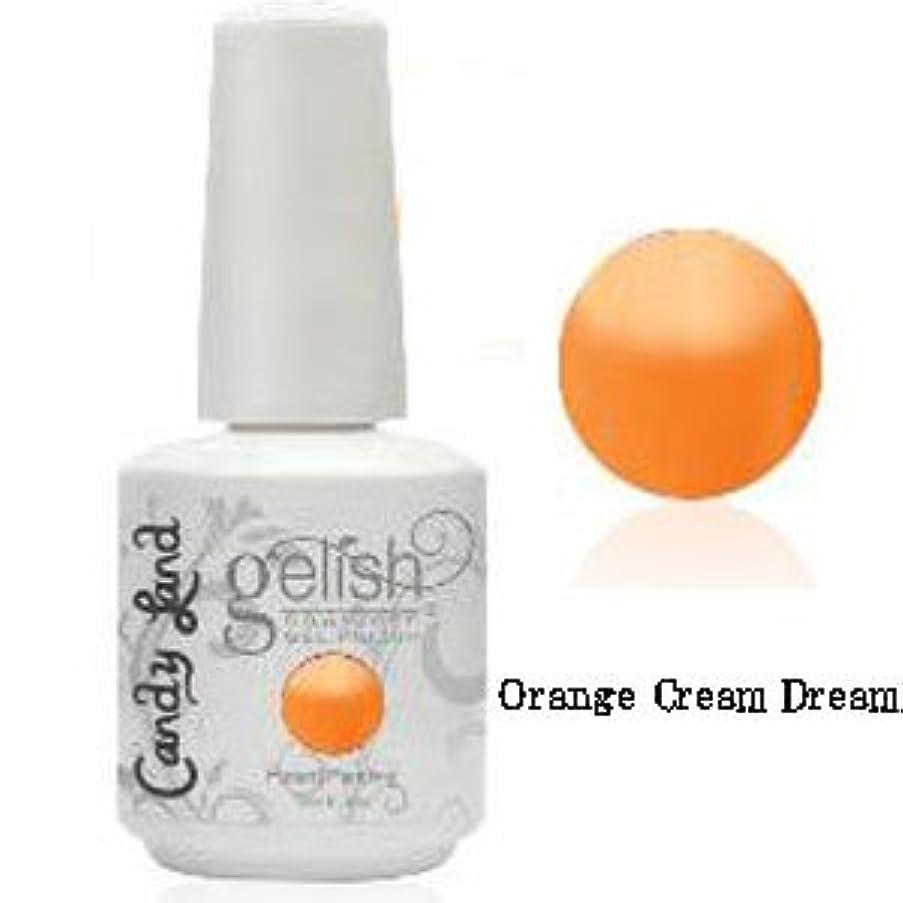 主権者去る夕食を作るHarmony gelishソークオフジェル-Orange Cream Dream-キャンディーランドコレクション 15ml [海外直送品][並行輸入品]