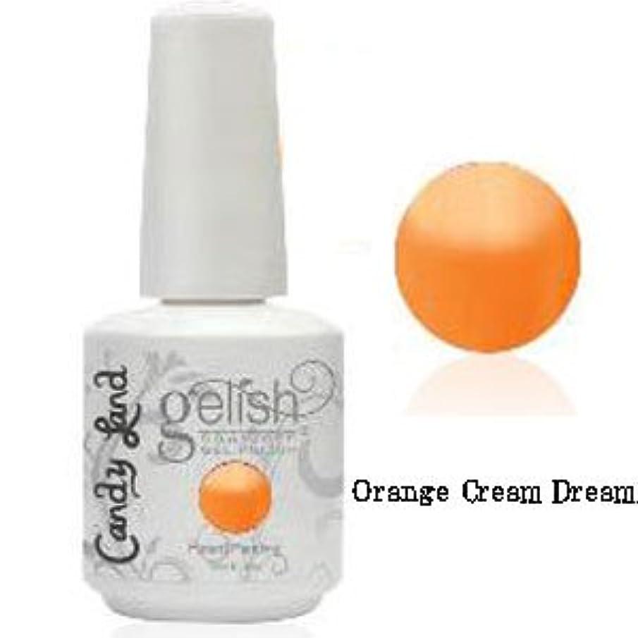 ファイアルくちばし好色なHarmony gelishソークオフジェル-Orange Cream Dream-キャンディーランドコレクション 15ml [海外直送品][並行輸入品]