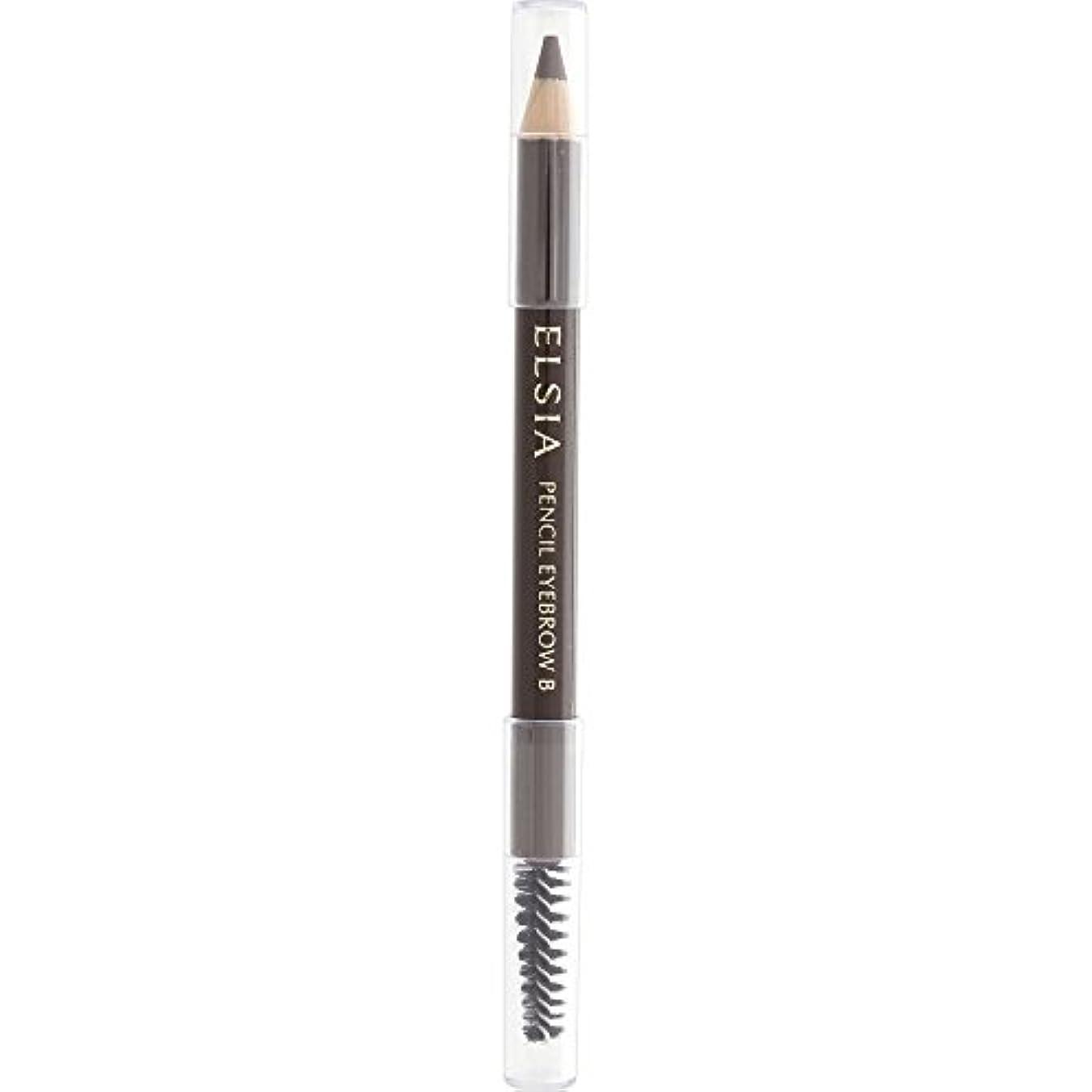 リーン恐怖症そんなにエルシア プラチナム 鉛筆 アイブロウ (ブラシ付) ライトブラウン BR301 1.1g