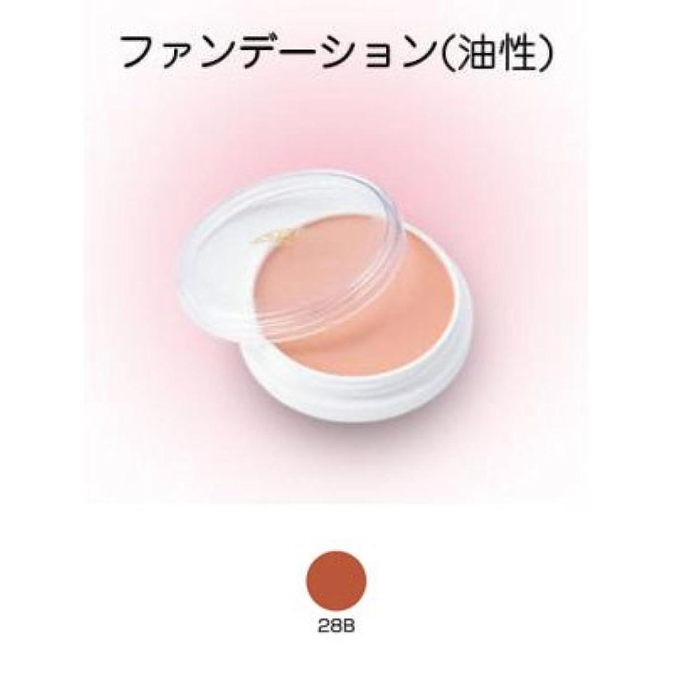 曲がった繊維コントラストグリースペイント 8g 28B 【三善】ドーラン