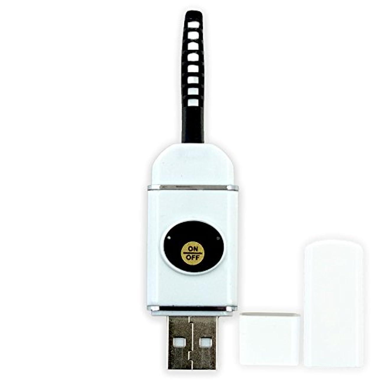 偽エミュレーション広範囲に【即納】USB充電式 まつ毛 カーラー ホット ビューラー