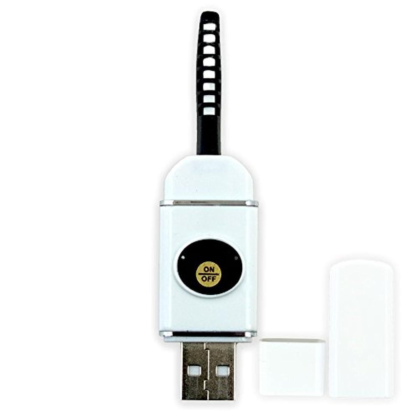 クモ評判療法【即納】USB充電式 まつ毛 カーラー ホット ビューラー