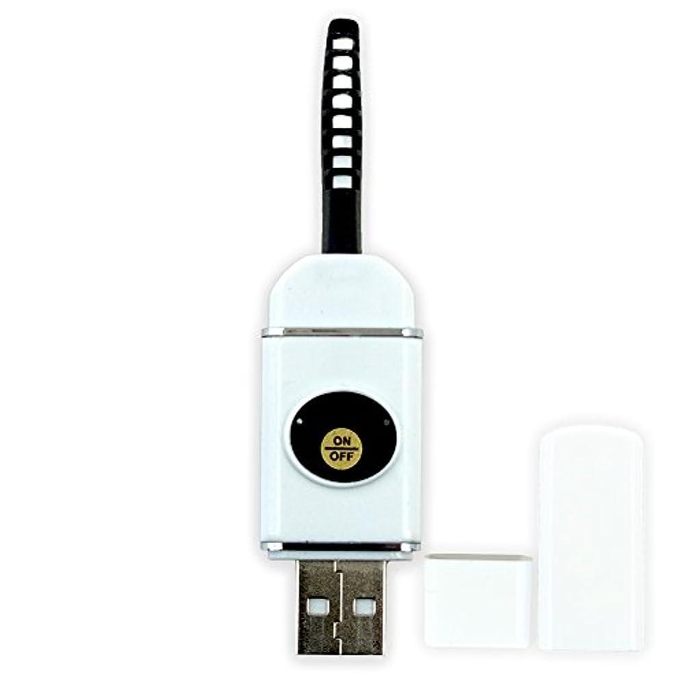 教養がある亜熱帯エアコン【即納】USB充電式 まつ毛 カーラー ホット ビューラー