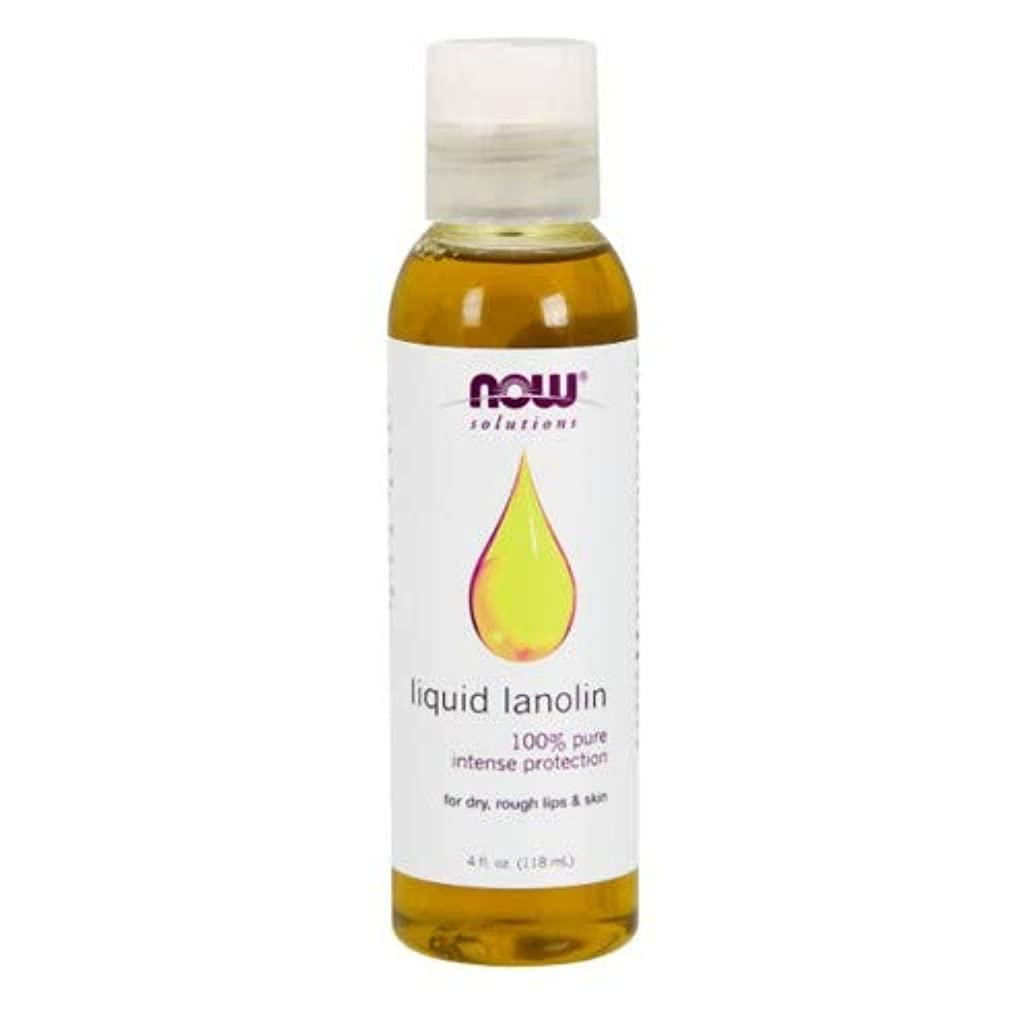 リングレットウェブより2個セット NOW Foods - 液体 ラノリン 100% Pure 118 ml [並行輸入品]