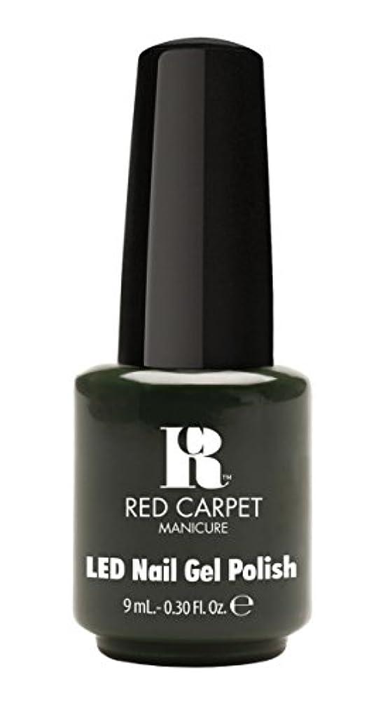 誰リスト賠償Red Carpet Manicure - LED Nail Gel Polish - Diva in Disguise - 0.3oz/9ml